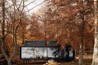 Vẻ đẹp lãng mạn của những ngôi nhà dưới sắc màu mùa thu