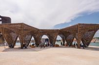 Công trình tre độc đáo của Việt Nam tham dự triển lãm kiến trúc ở Italy
