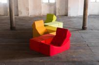 Sắm ngay ghế sofa xếp hình để làm mới không gian sống liên tục