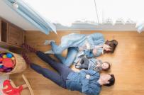 Căn hộ siêu nhỏ thoáng đẹp và tiện nghi dành cho gia đình trẻ ở Nhật