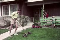 Biệt thự sân vườn những năm 50 của người dân Mỹ