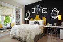 3 cách trang trí phòng ngủ ấn tượng với bảng đen