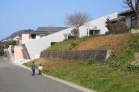 Độc đáo ngôi nhà 5 tầng không vách ngăn ở Nhật