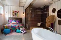 18 thiết kế phòng ngủ tích hợp phòng tắm sang chảnh không kém gì khách sạn