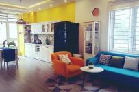 Không gian sống rực rỡ sắc màu trong ngôi nhà của cặp vợ chồng trẻ