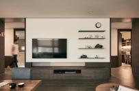 Khám phá căn hộ sử dụng nội thất gỗ chủ đạo của cặp đôi trẻ