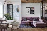 Học cách phân chia không gian chức năng trong căn hộ nhỏ