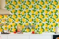 Trang trí phòng bếp với những mẫu giấy dán tường tuyệt đẹp