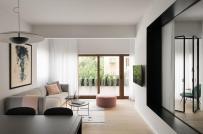 Cải tạo căn hộ cũ thành không gian sống thoáng đẹp, hiện đại