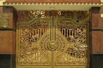 10 mẫu cổng nhôm đúc sang trọng dành cho biệt thự