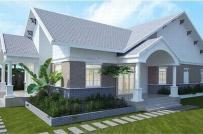 KTS tư vấn xây nhà cấp 4 mái Thái đẹp, tiết kiệm chi phí