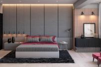Tham khảo ý tưởng trang trí phòng ngủ với tông màu xám sang trọng