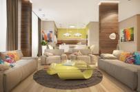 Sắc màu tươi vui trong ngôi nhà phong cách nhiệt đới