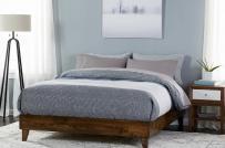 Tham khảo 10 mẫu giường ngủ bằng gỗ ấm áp, thân thiện với môi trường