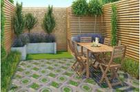 Những mẫu gạch lát sân vườn ấn tượng cho không gian nội thất