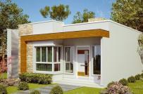 Tham khảo những mẫu nhà mái bằng đẹp, kinh phí dưới 700 triệu đồng