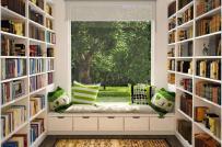 """Tham khảo 12 mẫu thiết kế thư viện mini tại nhà dành cho """"mọt sách"""""""