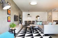 Căn hộ 2 phòng ngủ có thiết kế hợp lý dành cho gia đình trẻ