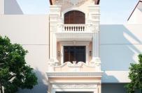 10 mẫu nhà phố 3 tầng phong cách cổ điển sang trọng
