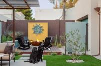 Không gian ngoại thất tươi mới hơn với cỏ nhân tạo