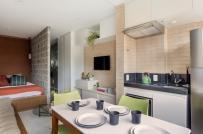 Thiết kế nội thất thông minh trong căn hộ 29m2 của cô nàng độc thân