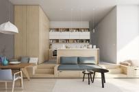 Tham khảo những mẫu phòng khách liền phòng ăn dành cho nhà nhỏ