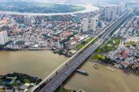 Nở rộ trung tâm mua sắm mới ở khu vực ngoại ô Sài Gòn