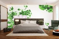 """""""Thay áo mới"""" cho phòng ngủ mùa đông bằng giấy dán tường đẹp"""