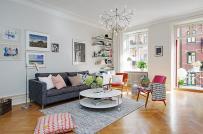 Cách phối màu tinh tế trong căn hộ phong cách Scandinavian