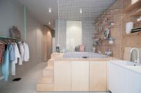 Học cách thiết kế không gian lưu trữ linh hoạt trong căn hộ 30m2 ở Hungary