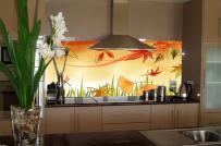 Không gian nấu nướng sáng - sang - sạch hơn nhờ kính ốp bếp