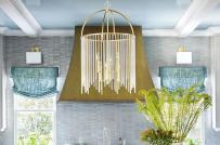Những mẫu đèn chùm trang trí phòng bếp đẹp mê mẩn