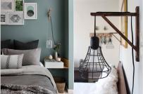 Phòng ngủ sáng đẹp hơn nhờ đèn trang trí