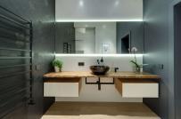 15 kiểu gương giúp phòng tắm thêm đẹp, thêm sang