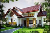 Tư vấn thiết kế nhà vườn 1 tầng mái Thái có gác lửng tiện nghi và tiết kiệm chi phí