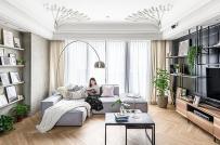 Thiết kế nội thất linh hoạt trong căn hộ phong cách công nghiệp