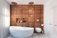 Phòng tắm nhà bạn như bừng sáng với những mẫu bồn tắm này