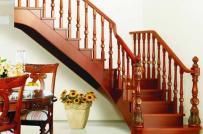 Các mẫu lan can và tay vịn cầu thang bằng gỗ phổ biến nhất hiện nay