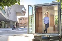 Học cách thiết kế nội thất thông minh trong nhà di động 8m2
