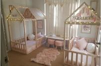 10 mẫu phòng ngủ cho hai bé sinh đôi đẹp như tranh vẽ