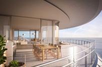 Đã mắt ngắm căn penthouse triệu đô bên bờ biển Miami