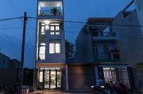 Nhà 4 tầng hiện đại ở Phillippines, chi phí hoàn thiện chưa tới 900 triệu đồng