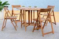 Những mẫu bàn ghế ăn ngoài trời đẹp hút mắt
