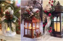 Trang trí nhà đón Giáng sinh với những mẫu đèn lồng độc đáo