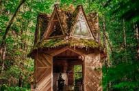 Nhà cabin nhỏ xinh lấy cảm hứng từ truyện cổ tích