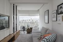 Thiết kế không gian lưu trữ đáng học hỏi trong căn hộ 57m2