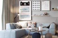 Học hỏi bí quyết bài trí bên trong căn hộ nhỏ nhưng vô cùng phong cách