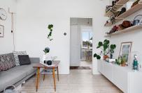Học cách bài trí nội thất gọn đẹp trong căn hộ phong cách Bắc Âu