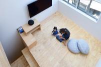"""Thiết kế """"nhỏ nhưng có võ"""" của ngôi nhà 2 tầng ở Nhật"""