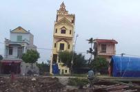 Nguyên nhân khiến ngôi nhà 5 tầng ở Hà Nam vừa xây đã nghiêng mạnh